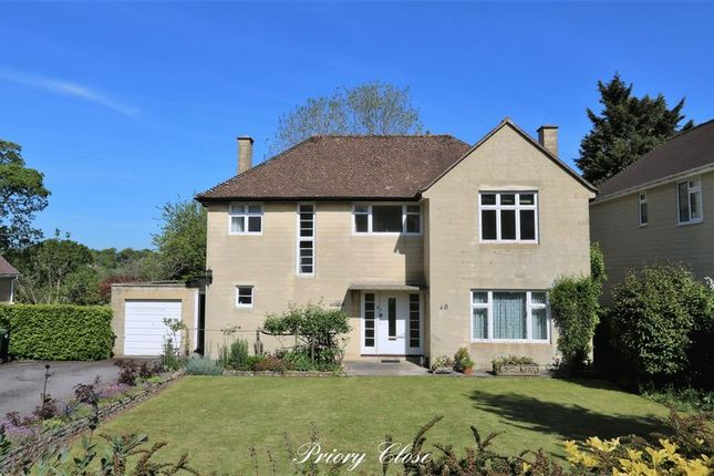 Thumbnail Detached house for sale in Priory Close, Combe Down, Bath