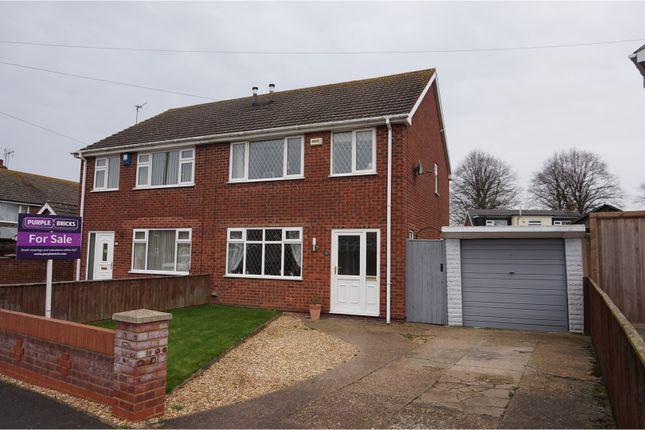 Thumbnail Semi-detached house for sale in Longmeadow Rise, Keelby
