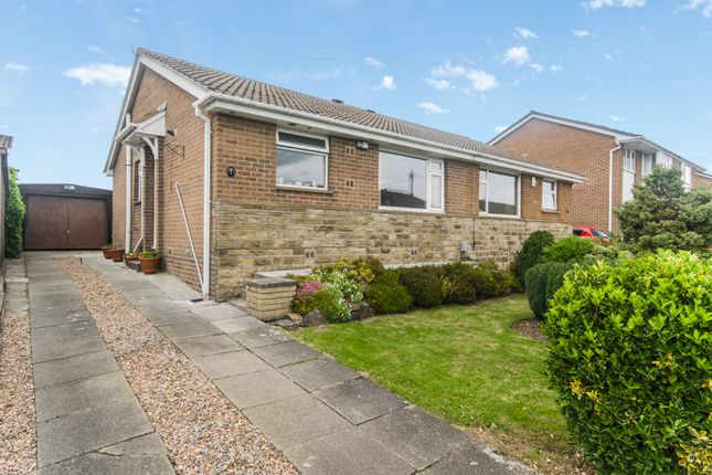 Thumbnail Semi-detached bungalow for sale in Meadow Park, Kirkheaton, Huddersfield