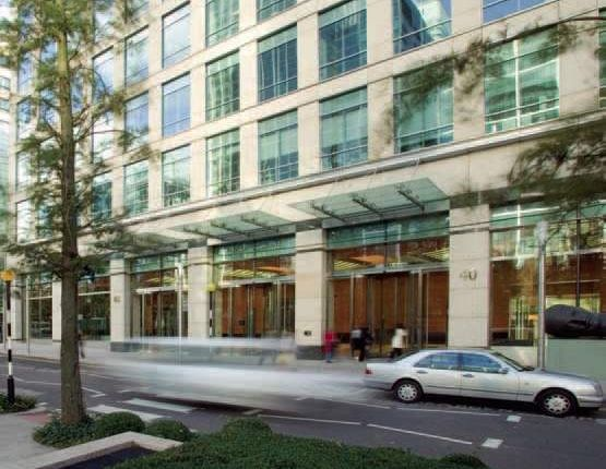 Thumbnail Office to let in 40 Bank Street, Canary Wharf, London