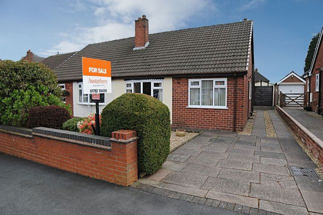 Thumbnail Semi-detached bungalow for sale in Ansmede Grove, Blurton, Stoke-On-Trent, Staffordshire