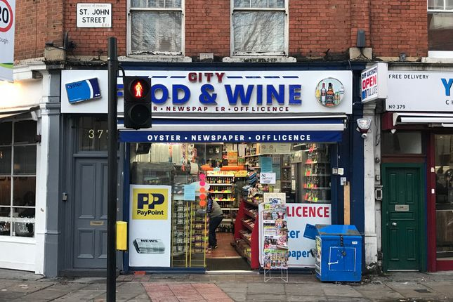 Thumbnail Retail premises for sale in St. John Street, London