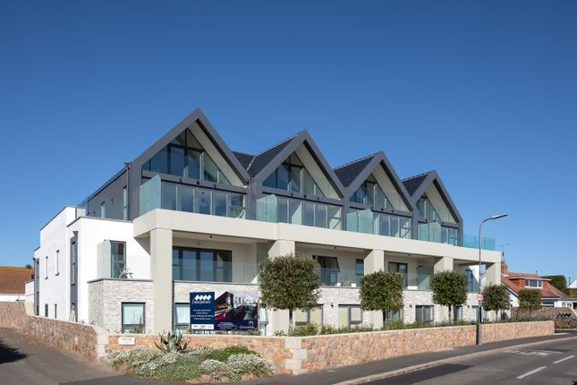 Thumbnail Flat for sale in Rocque Bay, St. Clement, Jersey
