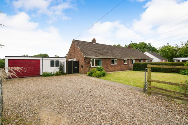 Thumbnail Semi-detached bungalow for sale in Shipdham Road, Toftwood, Dereham