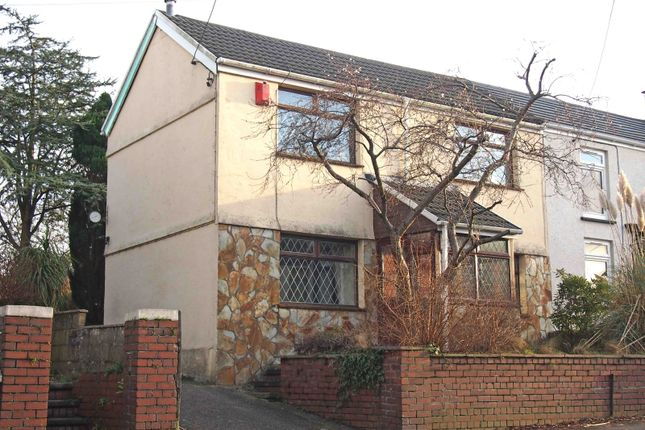 Semi-detached house to rent in Mill Street, Gowerton, Swansea, Abertawe