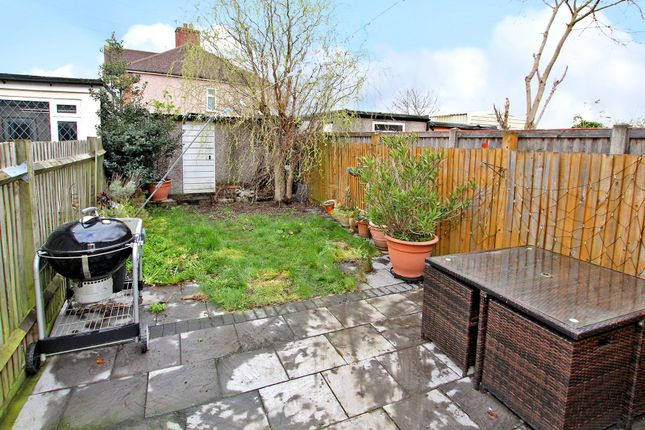 Garden of Harcourt Avenue, Sidcup, Kent DA15