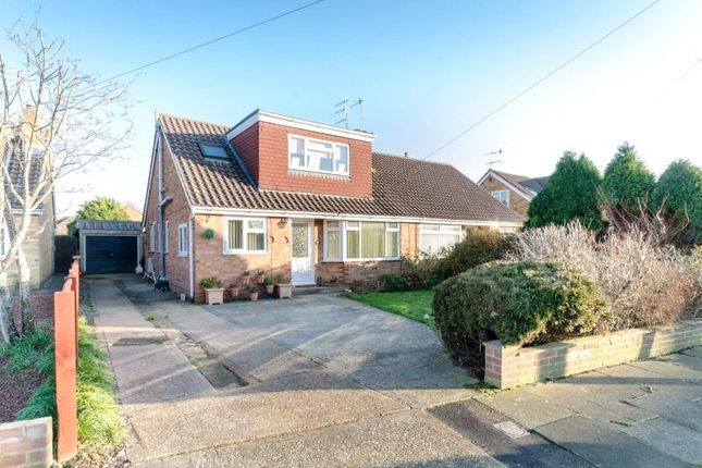 Thumbnail Semi-detached house for sale in Silverdale Drive, Sompting, West Sussex