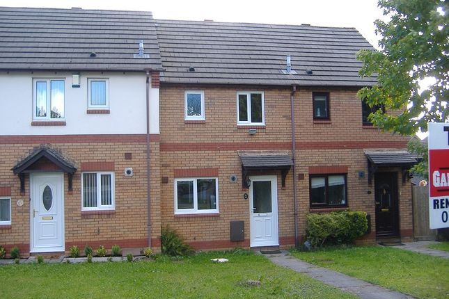 Thumbnail Terraced house to rent in 10 St Davids Close, Brackla, Bridgend, Mid. Glamorgan.