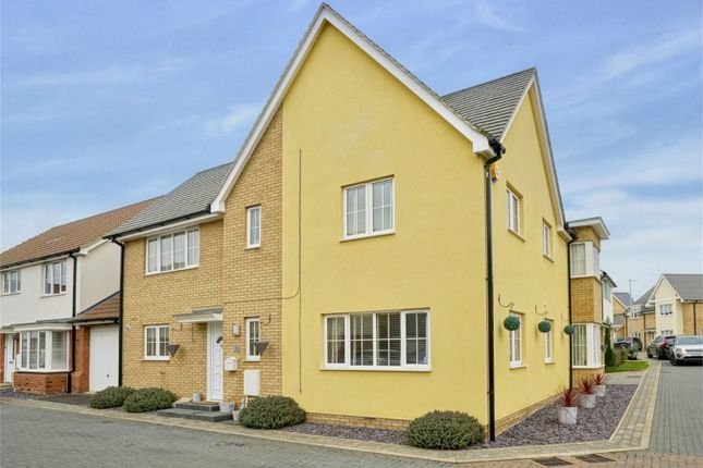 Thumbnail Detached house for sale in Bargroves Avenue, St. Neots