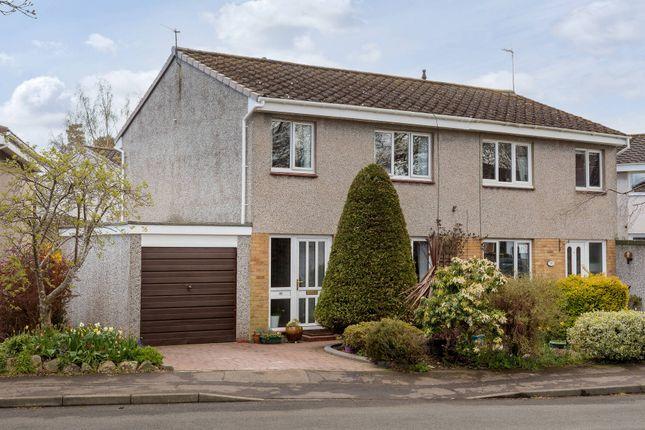 Thumbnail Semi-detached house for sale in Woodfield Avenue, Edinburgh