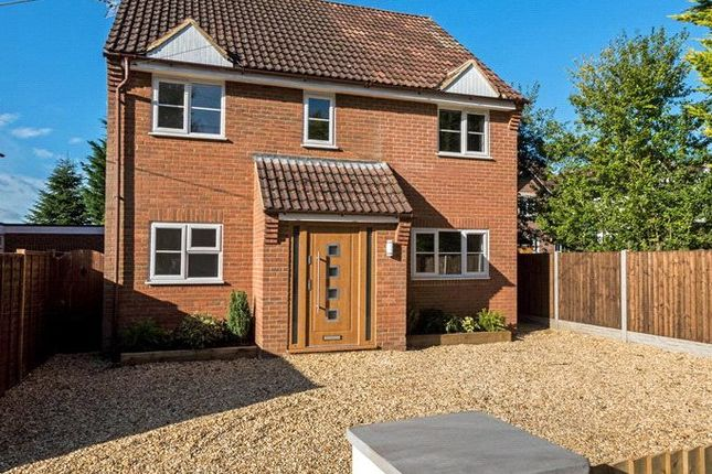 Thumbnail Detached house for sale in Church Road, Windlesham, Surrey