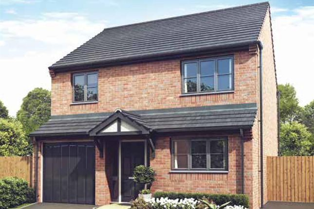 "Thumbnail Detached house for sale in ""The Snowdown"" at Darrall Road, Lawley Village, Telford"