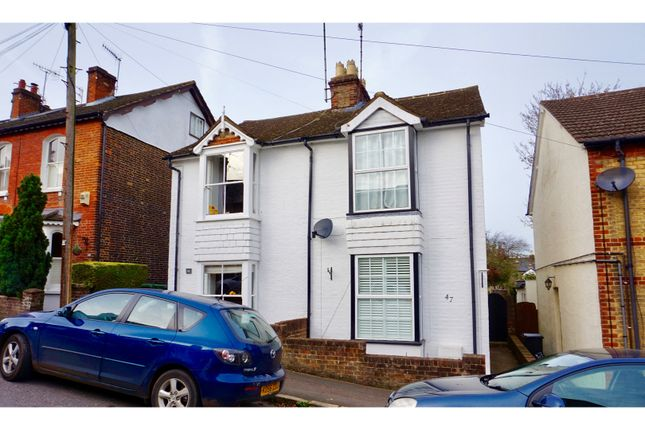 Thumbnail Semi-detached house for sale in Kitsbury Road, Berkhamsted