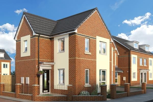 "Thumbnail Property for sale in ""The Eversley At The Parks Phase 4"" at Glaisher Street, Everton, Liverpool"