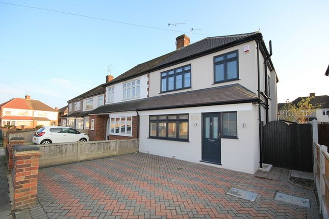 Thumbnail Semi-detached house to rent in Howard Road, Upminster