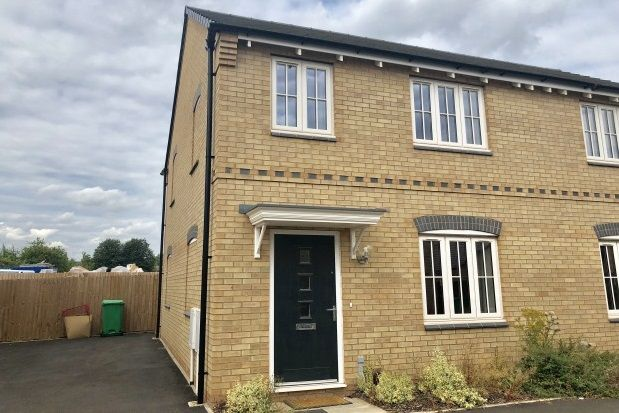 Thumbnail End terrace house to rent in Lapins Close, Nottingham