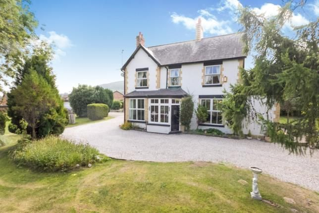 Thumbnail Detached house for sale in Llanfair Road, Abergele, Conwy