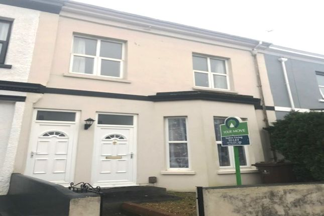Thumbnail Terraced house to rent in Hill Park Crescent, Plymouth