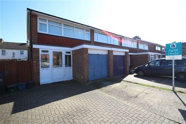 Thumbnail End terrace house to rent in Cleaverholme Close, Woodside, Croydon