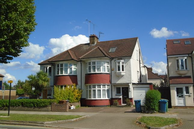 Thumbnail Semi-detached house to rent in Imperial Drive, North Harrow, Harrow