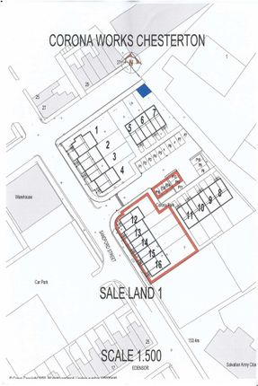 Thumbnail Land for sale in Corona Park, Newcastle-Under-Lyme, Staffordshire