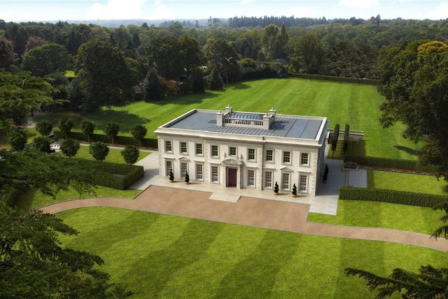 Thumbnail Detached house for sale in Wick Road, Englefield Green, Surrey