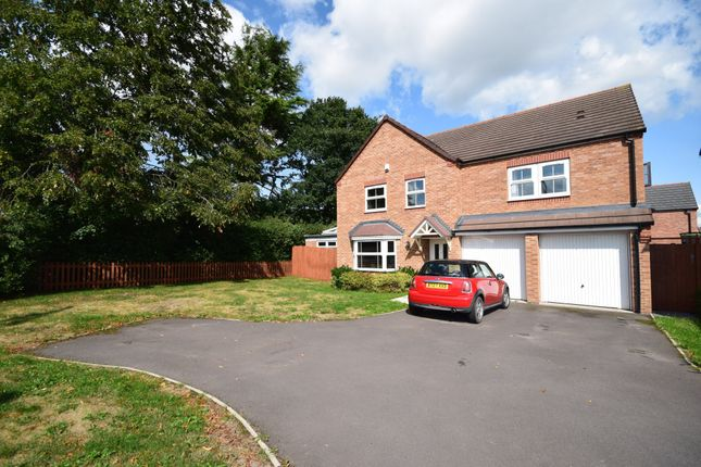 Thumbnail Detached house for sale in Oakley Meadow, Wem, Shrewsbury