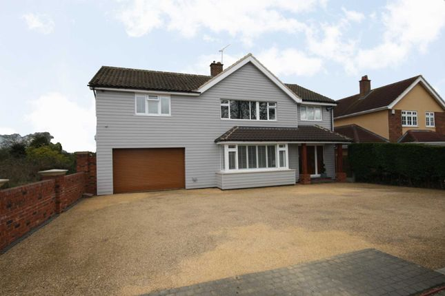 Thumbnail Detached house for sale in Church Road, Ramsden Heath, Billericay
