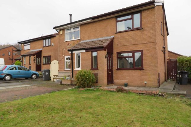 Thumbnail Semi-detached house to rent in Chelsea Close, Shaw, Oldham