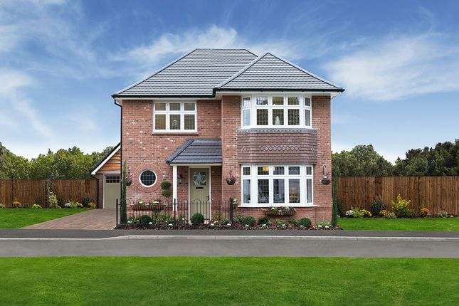 "Thumbnail Detached house for sale in ""Leamington Lifestyle"" at Higham Lane, Nuneaton"