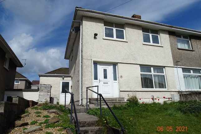 Thumbnail Semi-detached house to rent in Coronation Road, Llangynwyd, Maesteg, Bridgend.