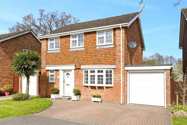 Thumbnail Detached house for sale in Hamilton Close, Bordon, Hampshire