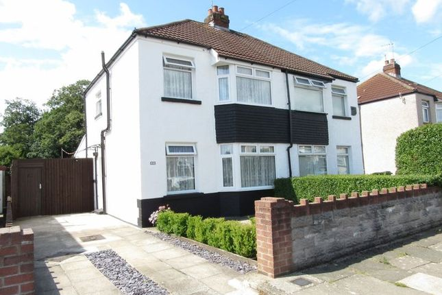 Thumbnail Semi-detached house to rent in Grants Field, The Downs, Culverhouse Cross, Cardiff