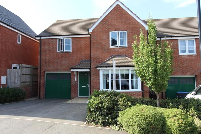 Thumbnail Detached house for sale in Cypress Road, Rugby