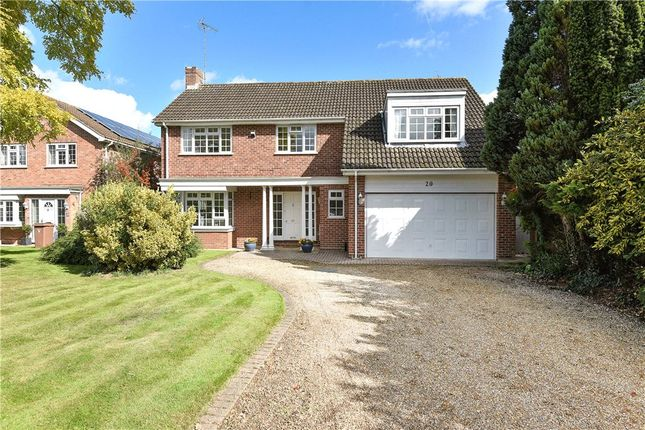 Thumbnail Detached house for sale in Denmark Avenue, Woodley, Reading