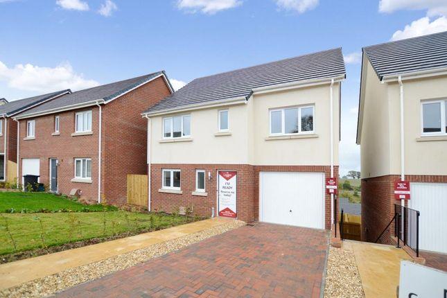 Thumbnail Link-detached house for sale in Saxon Way, Kingsteignton, Newton Abbot, Devon