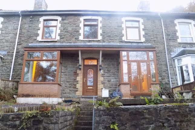 Thumbnail Terraced house for sale in Clytha Crescent, Old Blaina Road, Abertillery.