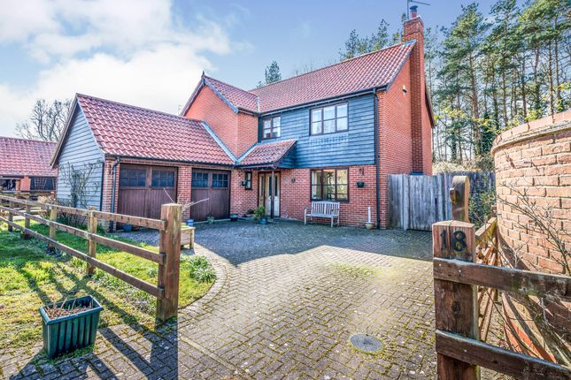 Thumbnail Detached house for sale in Shadingfield, Beccles, Suffolk