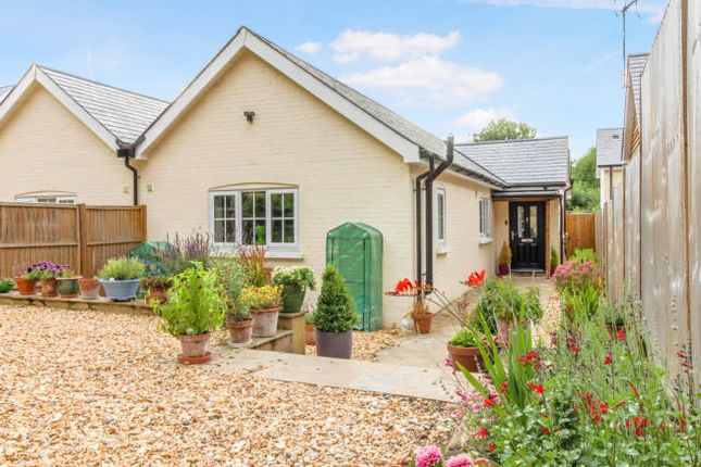 Thumbnail Semi-detached bungalow for sale in Stoke Lane, Hurstbourne Priors, Whitchurch