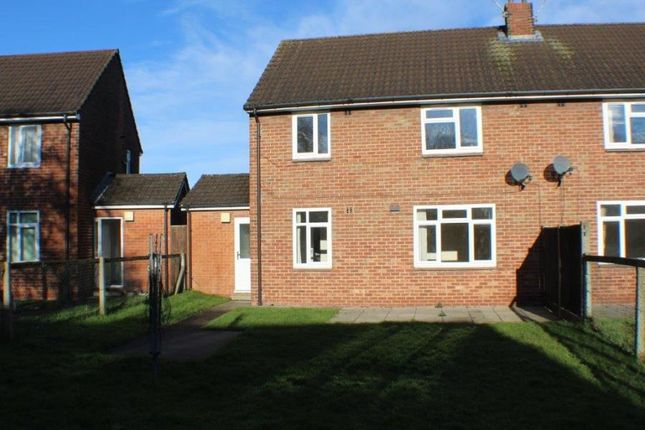 Thumbnail Semi-detached house to rent in Grange Road, Leconfield, Beverley
