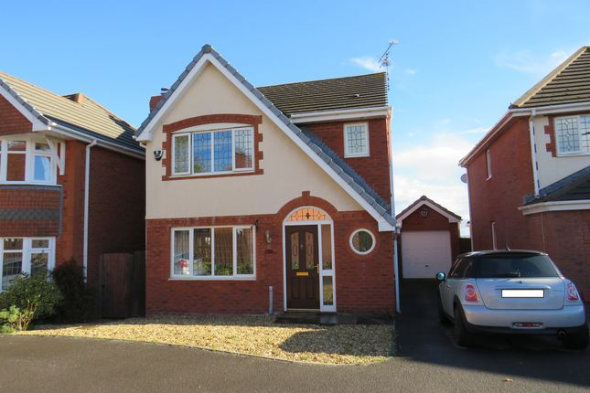 Thumbnail Detached house for sale in Heol Miaren, Barry