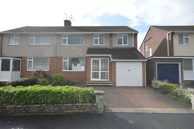 Thumbnail Semi-detached house for sale in Windrush Road, Keynsham
