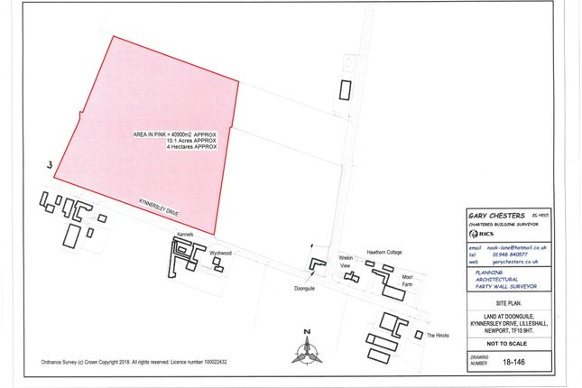 Thumbnail Land for sale in Kynnersley Drive, Lilleshall, Newport