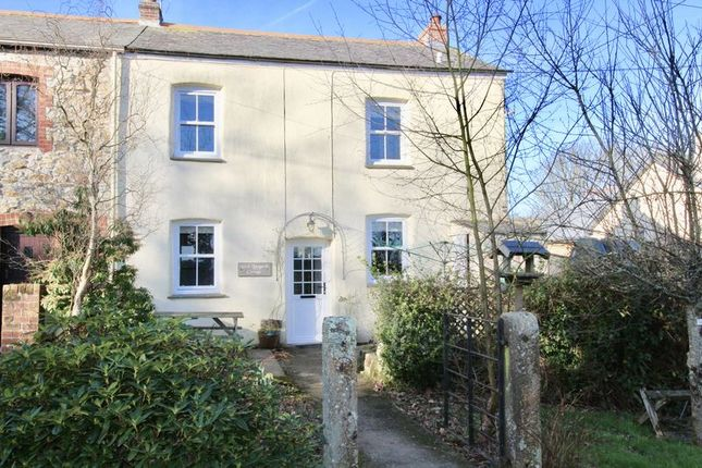 Thumbnail Terraced house for sale in West Langarth Cottage, Threemilestone, Truro