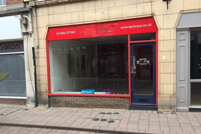 Retail premises to let in 55 Market Street, Market Street, Loughborough