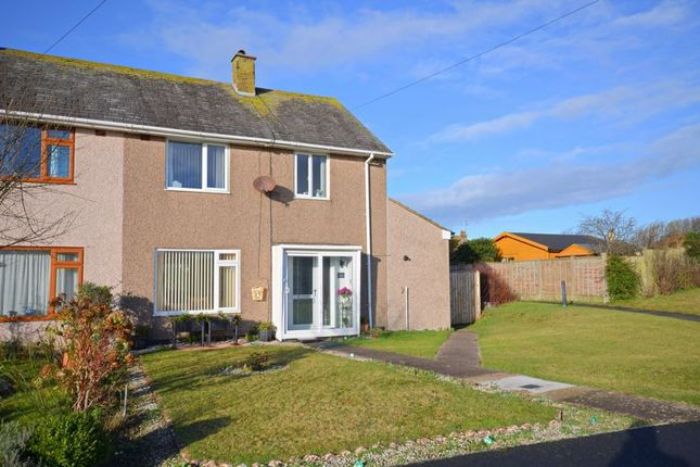 Thumbnail 3 bed semi-detached house for sale in Santon Way, Seascale