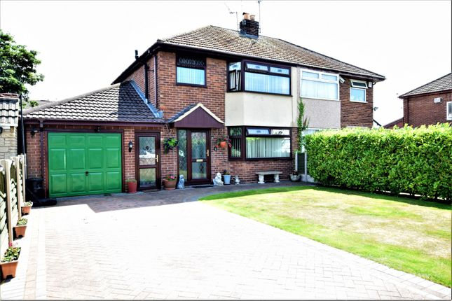 Thumbnail Semi-detached house for sale in Evansleigh Drive, Deeside