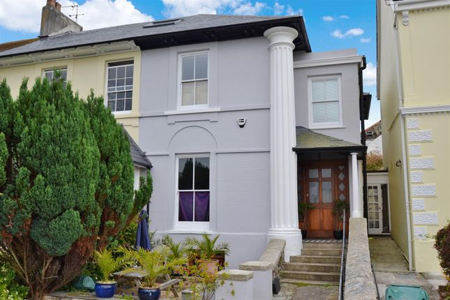 Thumbnail End terrace house for sale in Bar Terrace, Falmouth