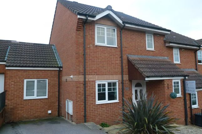 Thumbnail Semi-detached house to rent in Byron Way, Exmouth