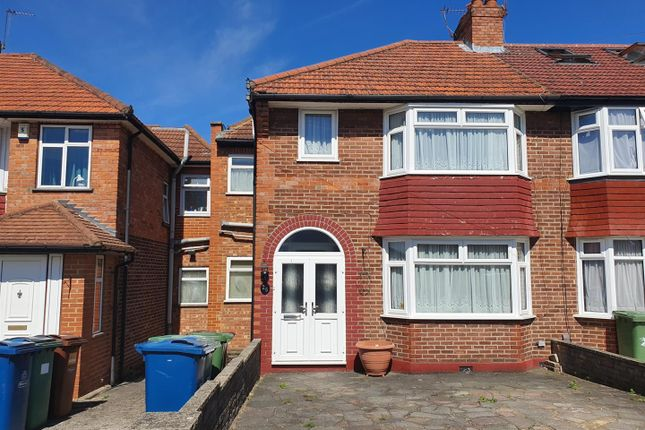 Semi-detached house for sale in Orchard Grove, Burnt Oak, Edgware